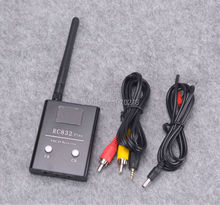 FPV RC832 Plus Receiver 5.8G 48CH 600mw Aerial Photography 5.8GHz AV Receiver System With A/V and Power Cables