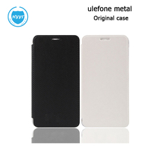 For UleFone Metal Leather Case Flip Cover With Hard Case Original Cellphone Protective Case For UleFone Metal Phone Accessory(China)