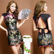 New COSPLAY Chinese cheongsam dress Sexy lingerie women costumes Sex Products toy Sexy underwear Role play Exotic Clothing