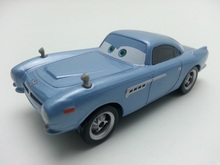 Pixar Cars Finn McMissile Metal Diecast Toy Car 1:55 Loose Brand New In Stock & Free Shipping