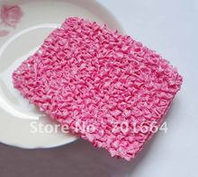 BARGAIN for BULK  4.5inches width pink Elastic Crochet headbands for making waffle hats