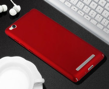100% Original Brand New Cover For Xiaomi Redmi 3 hard pc case xiaomi red mi 3 5.0inches back cover New Generation Matte Case