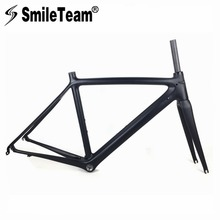 Buy SmileTeam 2018 Carbon Road Bike Frame Carbon Fibre Road Cycling Racing Bicycle Frameset Di2 & Mechanical Road Bicycle Frame BSA for $295.20 in AliExpress store