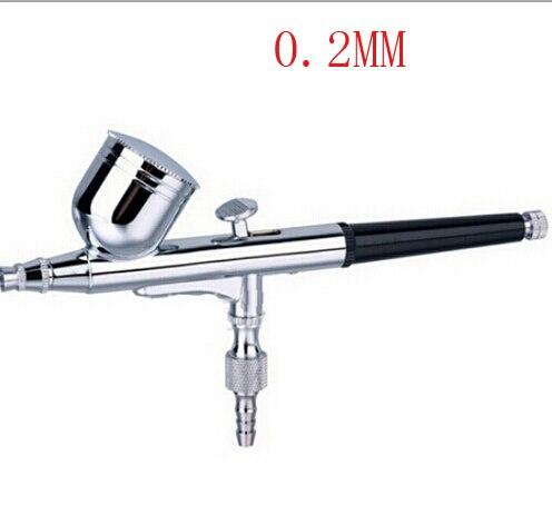 G 0.2 mm Dual Action dual action airbrush air brush kit Spray Gun for Nail Art/body spray/ cake/ toy models Free Shipping T<br><br>Aliexpress