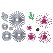Buy 117*94MM Flower circle Stencil Metal Cutting Dies Cut Practice Hands-on DIY Scrapbooking Album Craft dies Tool for $2.61 in AliExpress store