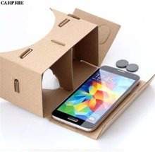 CARPRIE Halloween 3d Vr Virtual Reality Glasses for Google Cardboard 4-5.7Inch For Samsung S6 S7 Edge FOR IPHONE FOR XIAOMI(China)