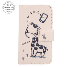 "AIYINGE Cell Phone Fashion PU Leather Case With Card Slot Wallet Cover For Doogee Homtom HT16 / HT16 Pro 5""(China)"