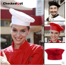 Free shipping 3 differnt sizes Chef hat good quality work hat hotel hat for men  women cap