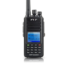 IP 67 Waterproof DMR Radio Walkie Talkie TYT  MD-390 Compatible with MOTOTRBO Tytera MD390 Digital Ham Radio Transmitter+ Cable