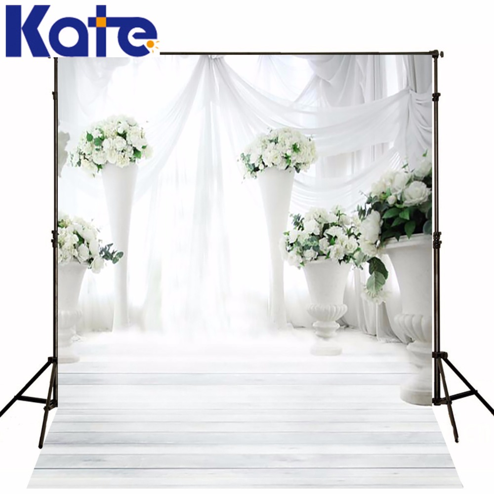 150Cm*200Cm(5Ft*6.5Ft) Wedding Flowers Bright Background Backdrop Photography Backdrops Lk4280<br>