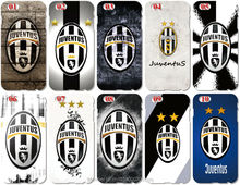 Wholesale Lot Juventus Football Logo Cell Phone Cover For iphone 4 4S 5 5S SE 5C 6 6S 7 Plus For iPod Touch 4 5 6 Mobile Case