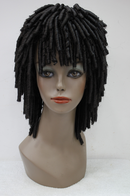 Darker Brown african style women lady wigs DREADLOCKS Fancy Dress RUUD GULLIT wig <br><br>Aliexpress