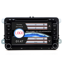 "rns510 2din 7""screen canbus Car DVD with GPS Navigation for VW JETTA PASSAT/B6/CC GOLF 5/6 POLO Touran Tiguan Caddy SEAT(China)"