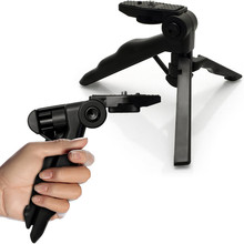 2 in 1 Pistol Grip Stabilizer and Mini Lightweight Table Top Stand Tripod for Digital Camera, DSLR, Video Camera & Camcorder