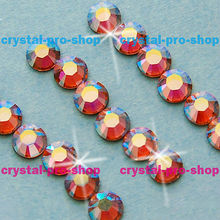 ss30 GENUINE Swarovski Elements AB Light Rose ( 223AB ) 144 pcs 30ss ( No-hotfix rhinestones)(Hong Kong)