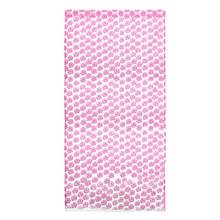 Tulle Window Screens Door Balcony Curtain Panel Sheer Perfect for Home Door Window Balcony Decoration (Pink)(China)