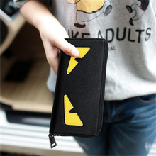 PASTE Lady bags women purses fashion Little monsters women Day Clutches High quality women's wallets Harry Potter NEW money clip