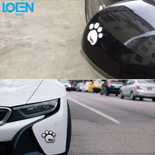 4PCS/Lot Cartoon Car Anti Collision Scratch Bear Paw Stickers Decoration Protect Film Car Sticker Auto Accessories Car Styling