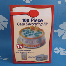 New 100 Cookie Muffin Cake Cupcake Icing Decorating Kit Tips Set Cake Decorating Kit Betty Crocker As seen on TV