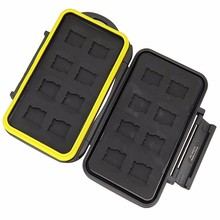 16 Slots Micro SD Memory Card Case Waterproof Storage Box MC-MSD16 for 16 TF cards Cheap Price