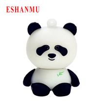 Panda pen drive cartoon Lovely panda 4gb 8gb 16gb 32gb 64gb usb flash drive Panda flash memory stick pendrive gift Pen stick(China)