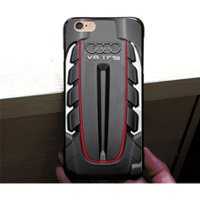 The Audi Twin Turbo V8 Hard Plastic Phone Case Cover for iPhone 4 4S 5C 5 SE 5S 7 6 6S Plus Drop Shipping