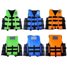 Liplasting Safety Life Jacket 3 Color Outdoor Safe Foam Float Vest Water Ski Sports Surfing Rafting Buoyant + Free shipping!