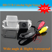 100% High quality CCD Car Reverse Rear View backup Camera parking rearview For VW Volkswagen Polo V (6R) / Golf 6 VI / Passat