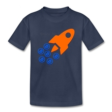Buy Bitcoin Rockets children's T Shirt 100% Cotton Short Sleeve O Neck Tshirt Bitcoin Tees Boys Girls 2018 Cartoon T-shirt Baby for $9.90 in AliExpress store