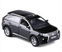 1PC 15.5cm Lexus RX350 SUV car model simulation alloy toy vehicle acousto-optic gifts