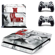 Buy Evil Within 2 PS4 Skin Sticker Decal Sony PlayStation 4 Console 2 Controllers PS4 Skin Sticker Vinyl for $7.99 in AliExpress store