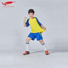 kids running short sleeve soccer jerseys kits football training sporting uniforms good quality sets quick drying suits for boys