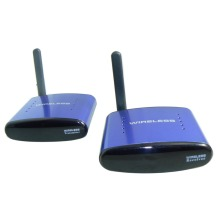5.8G AV wireless tv audio video transmitter and receiver video audio sender 200m free shipping