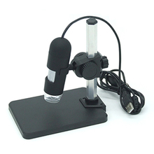 GAOSUO 1-50/1000X USB Digital Microscope with 8 LED Brightness Adjustable with Camera Webcam Endoscope Loupe for PCB Inspection(China)