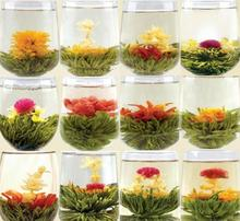 20pcs different kinds of flower tea, Chinese blooming tea made by hand, flower tea balls(China)