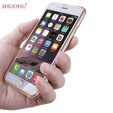 SHUOHU Low Price Metal Frame Protector Screen Tempered Glass For iPhone 6 / 6Plus for Iphone 6 S Glass New Design(China)