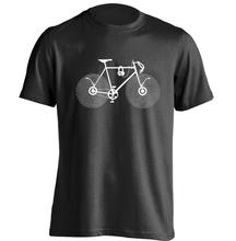 Bicycle Music Mens & Womens Rock T Shirt Retro T Shirt Custom T Shirt