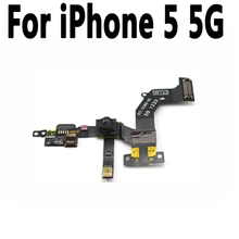 New Front Camera Flex Cable Proximity Sensor Light And Mic Flex Cable Replacement Parts For iphone 5 5G Front Camera Flex Cable