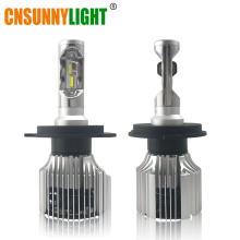CNSUNNYLIGHT Car LED Headlight Bulbs All in One H7 H11 H1 880 H3 9005 9006 9012 5202 72W 8500LM H4 H13 9007 High Low Beam Lights(China)