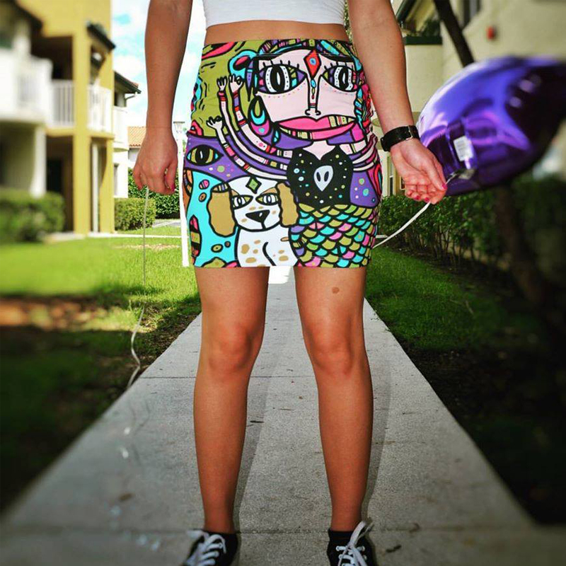 personalized skirt