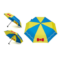 Fashion Boys Girls Children Umbrella Three Folding Sunny Rainy Students Umbrella 14 Colors New Arrival Cartoon Umbrellas(China)
