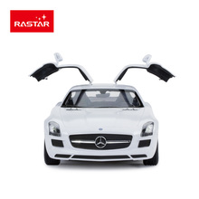 Rastar Licensed rc car R/C 1:14 - SLS AMG Other type vehicle remote control toy with led opened door rc vehicle 47600(China)