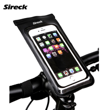 Sireck MTB Road Bike Bag PVC Waterproof Bicycle Bag 6.0'' Touchscreen Phone Case / Stand Cycling Handlebar Bag Bike Accessories