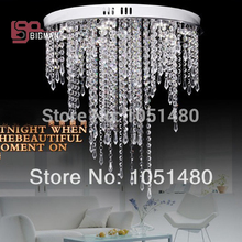 hot sales modern dinning room crystal ceiling lights AC110-240V lustre bedroom lamp