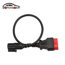 OBDSPACE For Renault OBD II 16 PIN 16pin Obd2 Connector For Renault Can Clip Obd Cable Adapter Free Shipping(China)