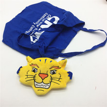 2018 New Yellow Tigers Plush Toy Kawaii Tiger Stuffed Animals Plush Doll Toys for Children Wallet/Shopping Bag Kids Cartoon Toy(China)