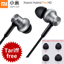 Original Xiaomi Hybrid Pro HD Earphone Circle Iron Mixed Mi Piston 3 4 Pro With MIC 3 Units Sound For Android IOS phone