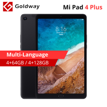 Multi-taal Xiao mi mi pad 4 Plus 64 Gb/128 gb tabletten 4 Snapdragon 660 Aie 8620 mAh 10.1 ''16:10 1920x1200 Scherm 13MP mi pad 4(Hong Kong,China)