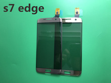 Front Glass Touch Panel for Samsung Galaxy S7 Edge G935F G9350 Original Front Outer Glass Lens Cover Touch Screen Digitizer+TP(China)