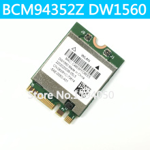 DW1560 BCM94352Z  NGFF M.2 WiFi WLAN Bluetooth 4.0 802.11ac 867Mbps BCM94352 wireless card WLAN WIN7/WIN8/WIN8.1